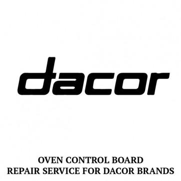 Repair Service For Dacor Oven / Range Control Board 72724